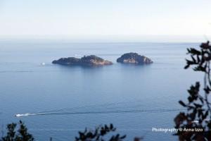 Le isole Li Galli di Positano