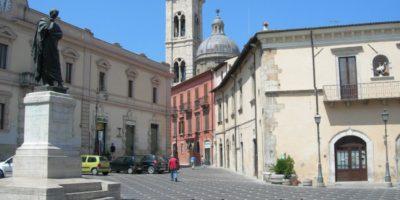 Sulmona, la città situata tra quatto parchi.