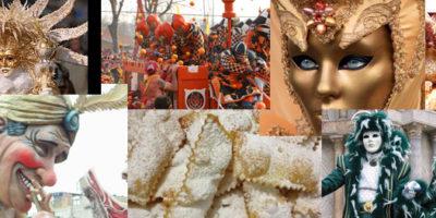 Carnevale in Italia: sfilate, balli in piazza, maschere tradizionali e fantastiche