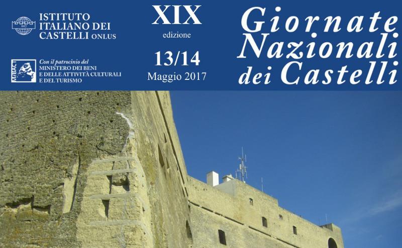 Giornata Nazionale dei castelli 13-14 maggio e delle dimore storiche 21 maggio