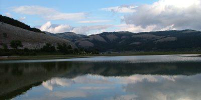 Il lago Laceno.