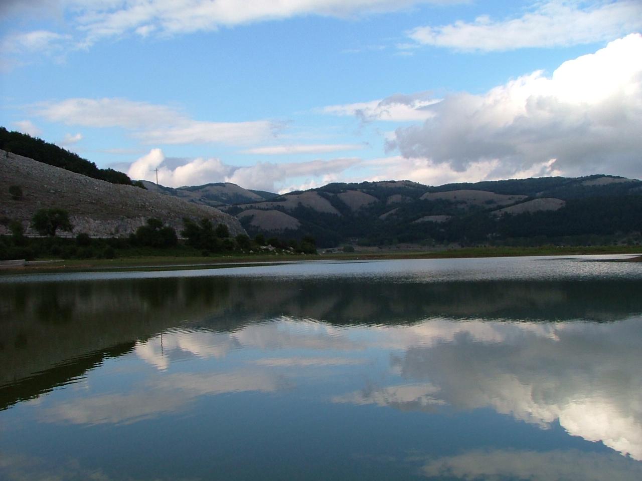 Il lago Laceno